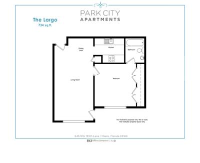 1-bedroom Apartments Miami FL