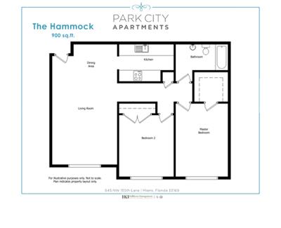 2-bedroom Apartments Miami FL